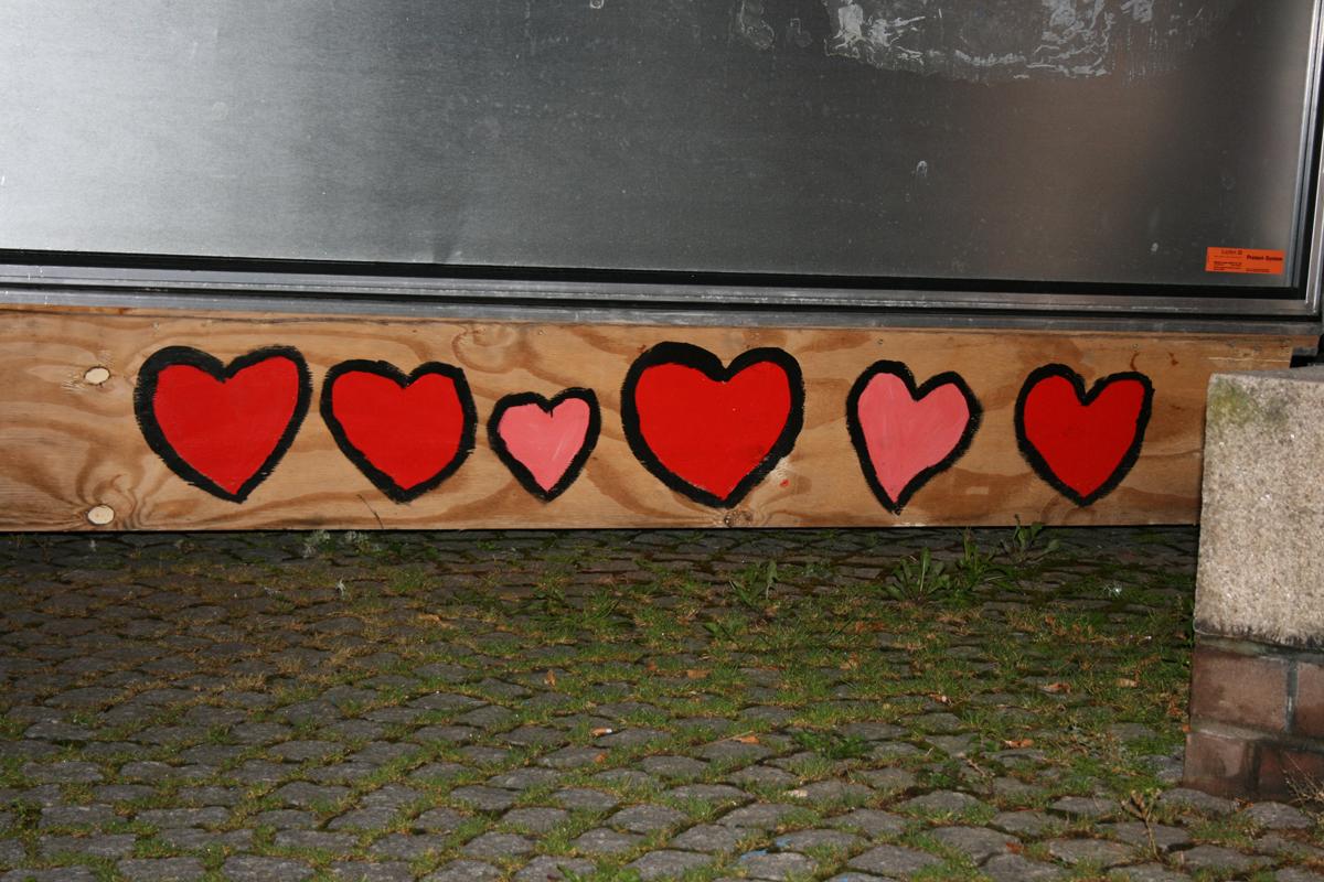 Mauerfall-Herzen